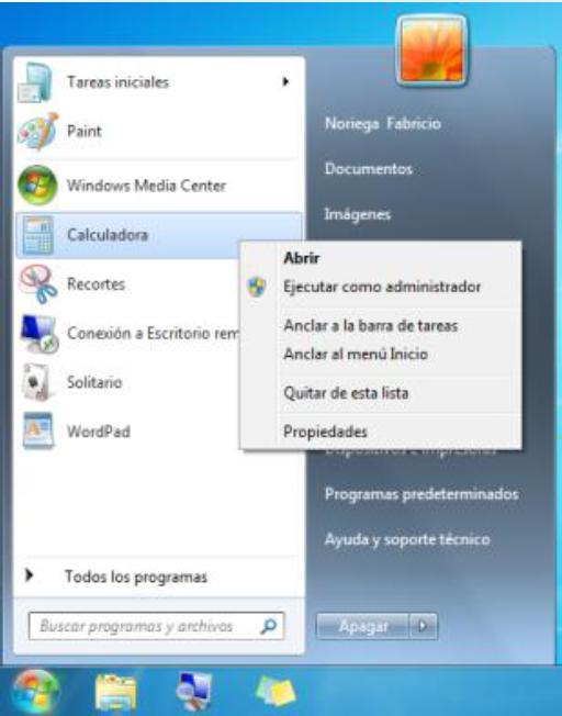 programa en la barra de tareas y a continuación haga clic en anclar ...
