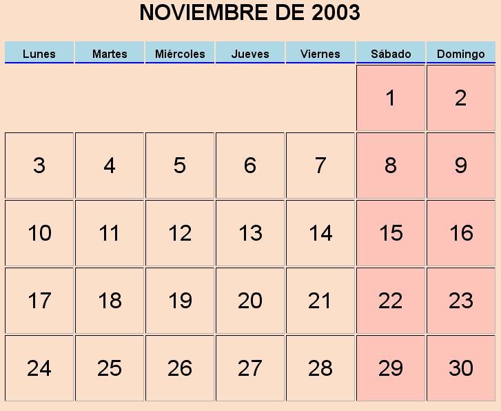 Html Calendario.Calendario Cursoprogramador